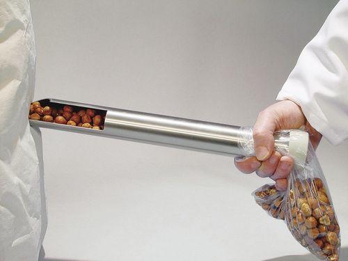 Solids sampler / bulk solids / probe / for sacks Tubus Bürkle