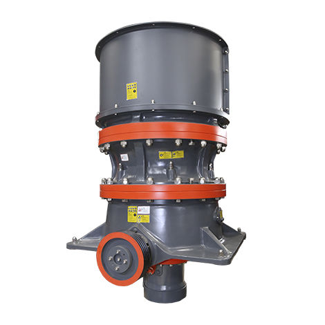 hydraulic cone crusher / stationary / for mineral material