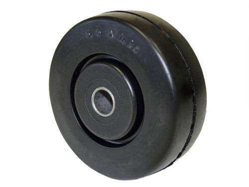 monobloc wheel / rubber