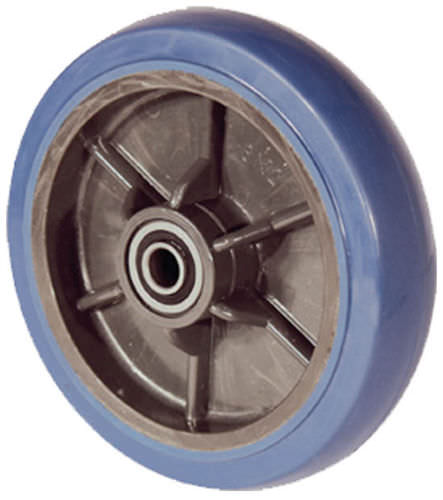 wheel with solid tire / rubber / nylon / non-marking