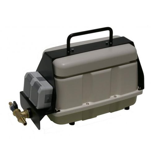 air compressor / portable / electrically-powered / low-noise