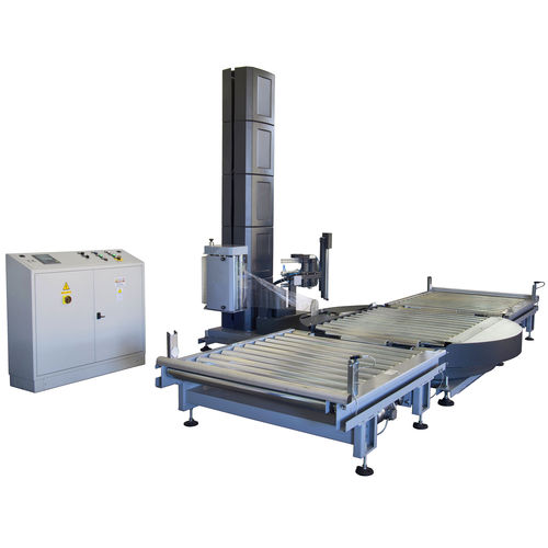 turntable stretch wrapper / fully automatic / for industrial applications / for furniture