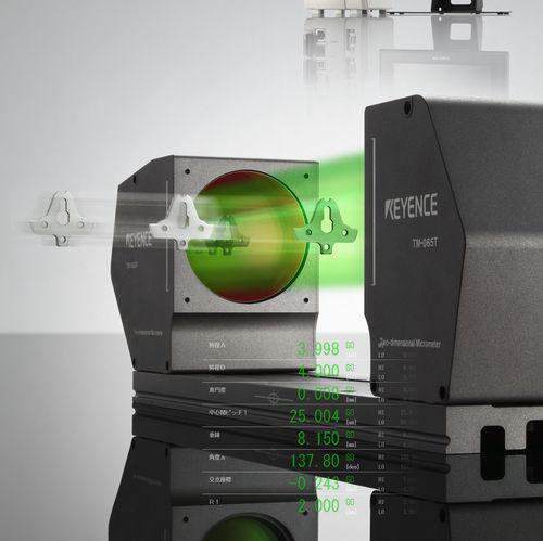 Linear displacement sensor / non-contact / CCD / 2D laser TM-3000 series Keyence Deutschland