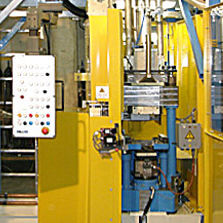 Hydraulic press / forging / laboratory / for friction lining IAG Industrie Automatisierungsgesellschaft m.b.H.