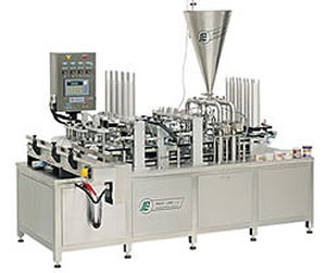 Liquid filling and sealing machine / for pre-formed containers 25 - 100 p/min | PXG series PackLine