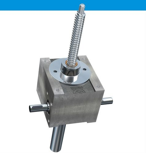 Worm gear screw jack / cubic worm gear / traction / translating screw HSG series INKOMA, ALBERT