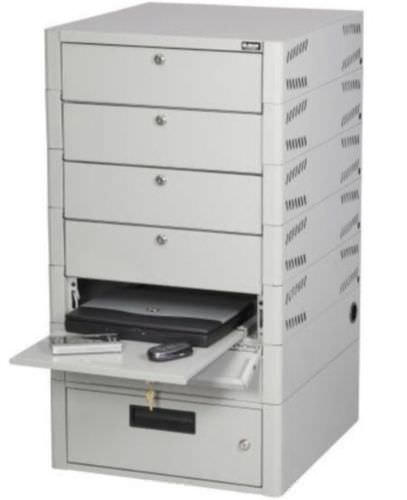 Security cabinet / multi-drawer / floor-standing / metal TekStak™ Datum