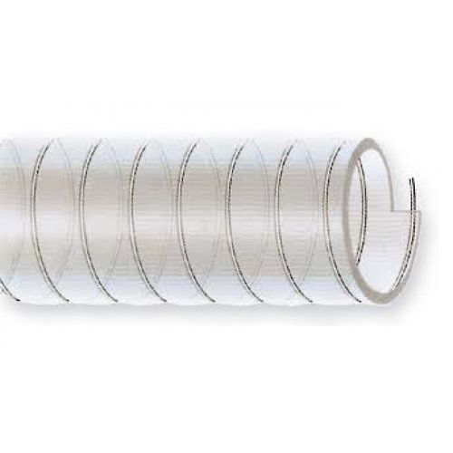 transport hose / PVC / flexible / spiral
