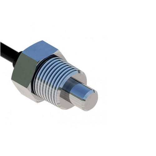 NTC temperature sensor / thermistor / screw-in / for the automotive industry
