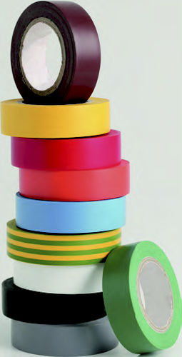 rubber adhesive tape / industrial / for electrical applications / insulating