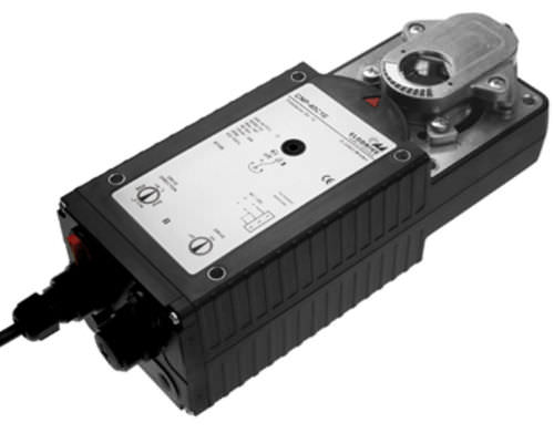 Electric valve actuator / in-line / for high-torque applications CN series Elodrive GmbH