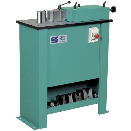 hydraulic bending machine / manual / for flat profiles / for aluminum profiles