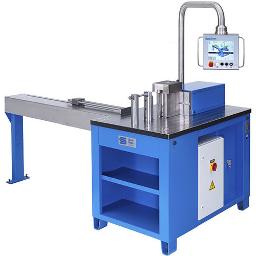 CNC bending machine / hydraulic / profile / horizontal