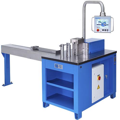 hydraulic bending machine / profile / horizontal / precision
