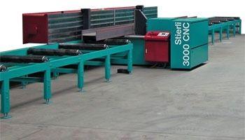 Straightening machine max. 3 000 kN   3000 RP Stierli-Bieger AG