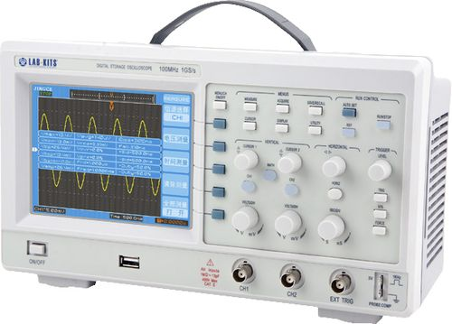 digital oscilloscope / bench-top / 2-channel / USB