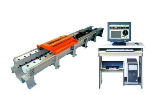 tensile testing machine / digital / horizontal