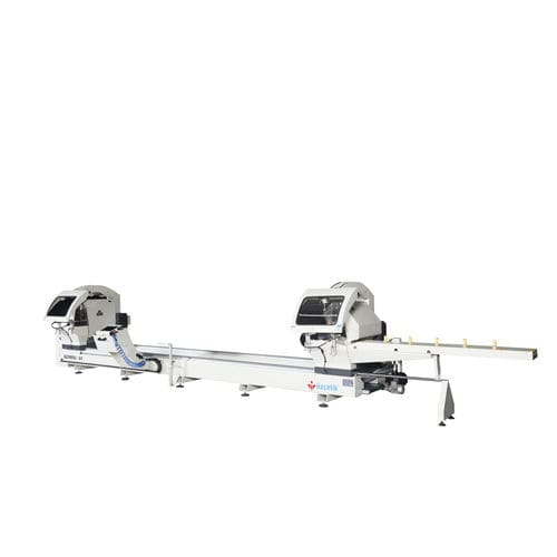 aluminum double-miter saw / for profiles