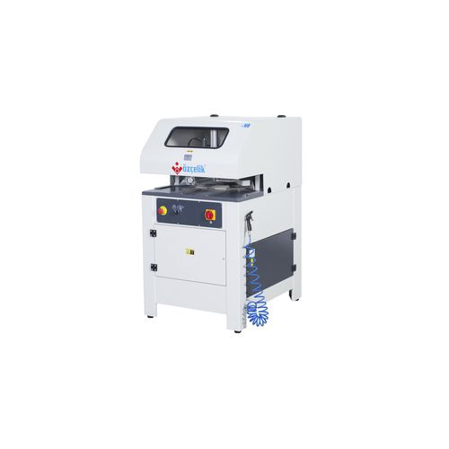 profile angled deburring machine / for PVC windows and doors / automatic