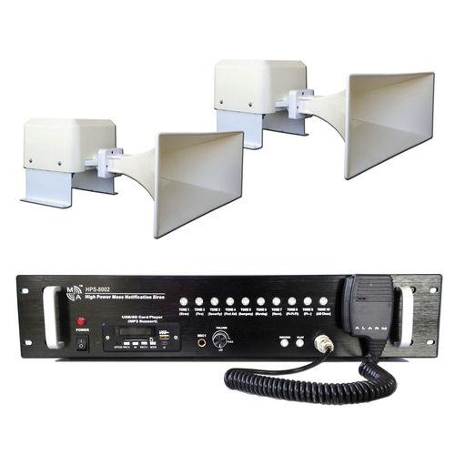 IP66 siren / without beacon