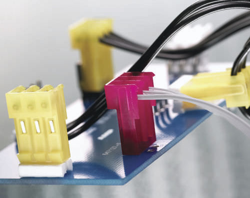 Printed circuit board connector / electric / rectangular / insulation-displacement 0.156 in, 18 - 26 AWG | MTA-156 TE CONNECTIVITY - CONNECTORS