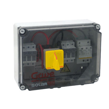 equipped electrical enclosure / plastic / for photovoltaic applications / IP65