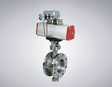 Pneumatically-actuated butterfly valve / for corrosive fluids 150 - 300 lbs Shanghai SanZhou Automation Dash Co., Ltd