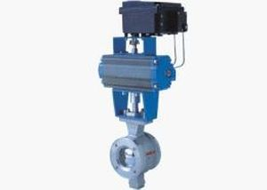 Ball valve / control / pneumatically-actuated DN 25 - 400 | SPV series Shanghai SanZhou Automation Dash Co., Ltd