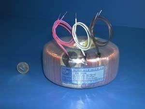 Power transformer / encapsulated / toroidal / for printed circuit boards c2ei