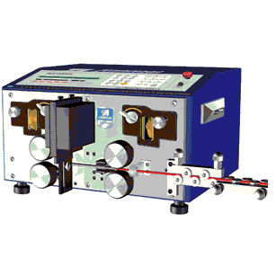 electrical cable cutting and stripping machine / blade