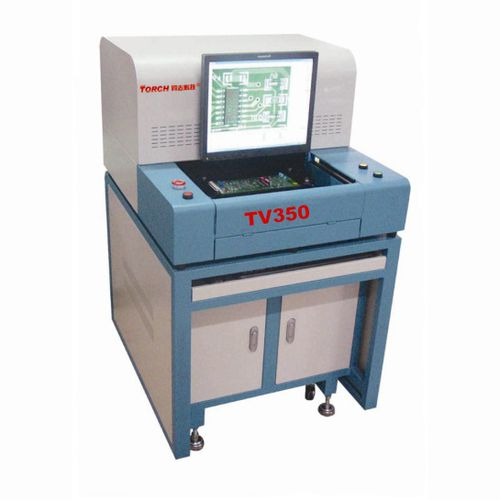 optical inspection machine / automatic / for printed circuit boards / for electronics