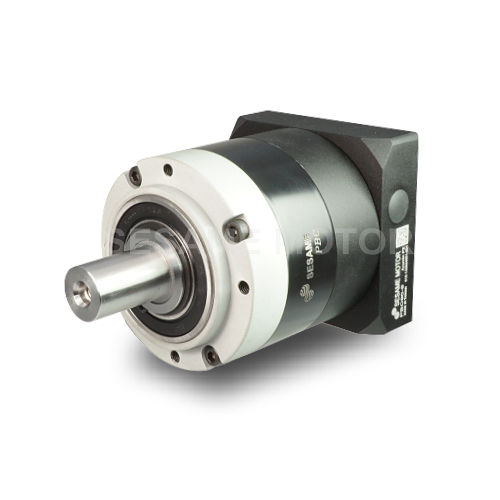 planetary gear reducer / coaxial / maintenance-free / with flange