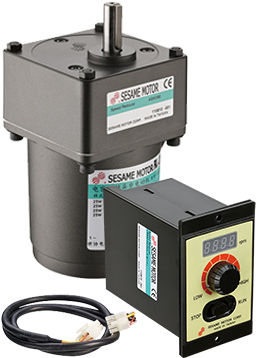 Panel-mount variable-speed drive M series Sesame Motor Corp.