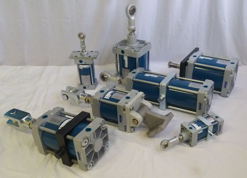 pneumatic cylinder / double-acting / industrial / tie-rod