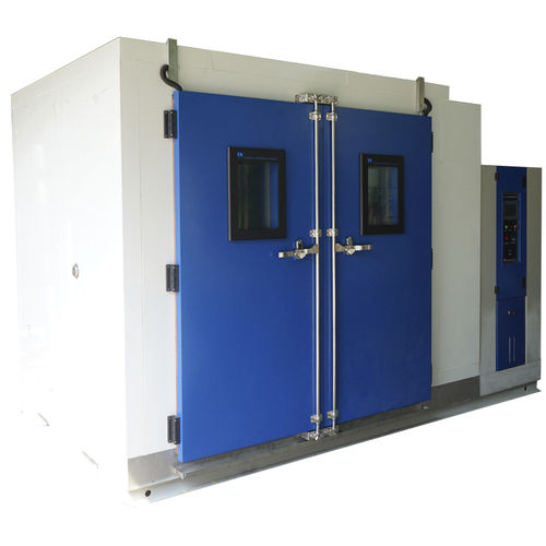 environmental test chamber / humidity and temperature / walk-in