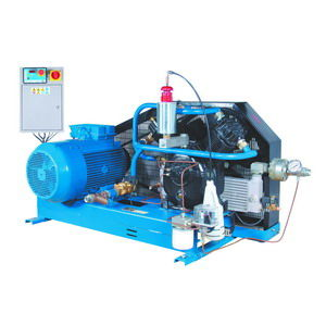 piston pressure booster / air