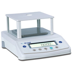 Precision balance / laboratory / with LCD display / with external calibration weight CY Series Aczet Pvt Ltd.