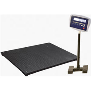 precision scale / with LCD display / stainless steel / industrial