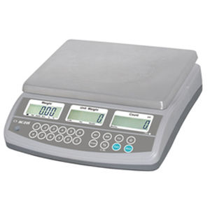 Platform scales / benchtop / counting / with LCD display CZ-N, CZ-NL series Aczet Pvt Ltd.