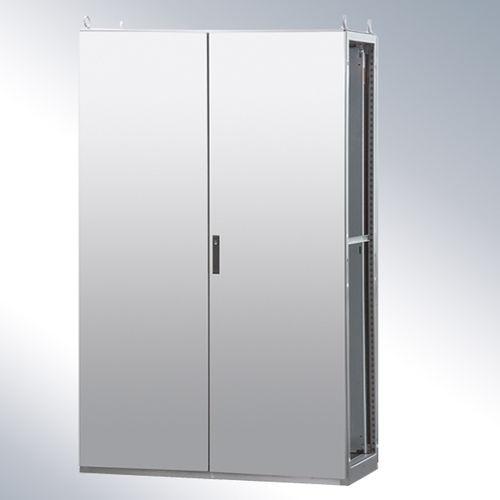 electric cabinet / floor-mounted / single-door / stainless steel