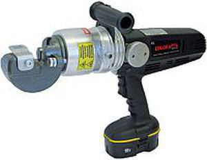battery-powered cable cutter / hammer