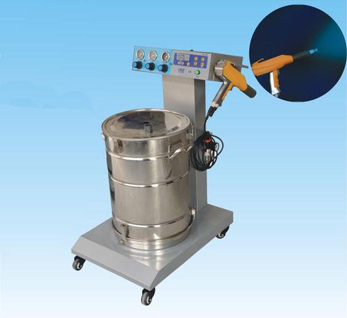Powder coating machine with electrostatic gun Colo-660 hangzhou color powder coating equipment  ltd