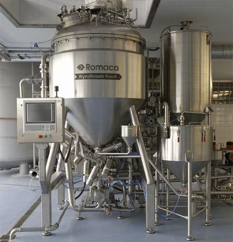 Rotor-stator homogenizer / continuous / for pharmaceutical applications / vacuum 12 - 1 500 l | MaxxD series FrymaKoruma GmbH