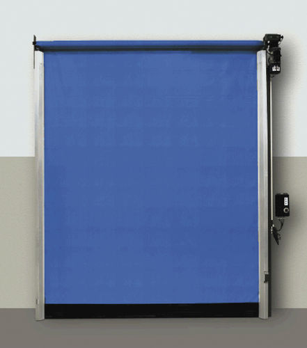 roll-up door / fabric / PVC / industrial