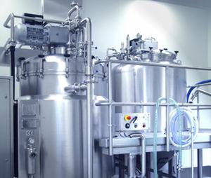 Turbine mixer / batch / for liquids VHM 500 NETZSCH Vakumix GmbH
