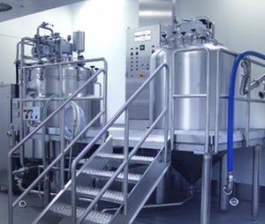 High-shear homogenizer / continuous / for pharmaceutical applications VHM 500 NETZSCH Vakumix GmbH
