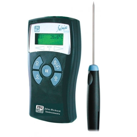 Pt100 thermometer / digital / portable / industrial