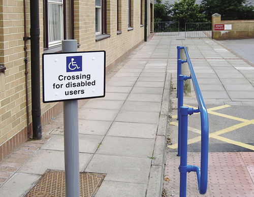 Disabled access handrail KEE SAFETY