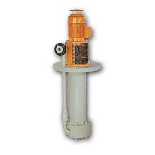acid pump / for bases / electric / semi-submersible