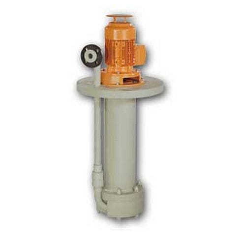 effluent pump / for bases / electric / semi-submersible